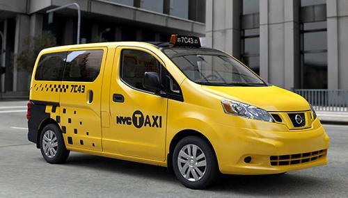 История желтого нью-йоркского такси