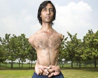 Самый гибкий человек в мире живет в Индии