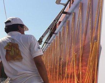 В Дубае изготовлена самая длинная в мире золотая цепочка