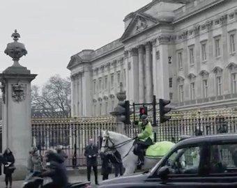 Голый мужчина покинул Букингемский дворец через окно