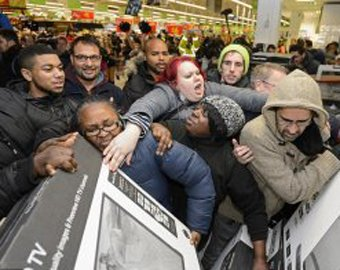 Видео драк в американских магазинах бьет рекорды просмотров