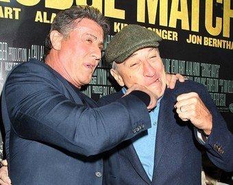Сталлоне и Де Ниро провели боксерский спарринг