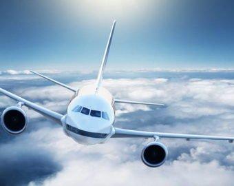 Самолет протаранил колесо обозрения