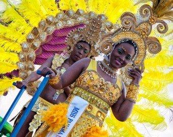 В Панаме во время карнавала перевернулась трибуна со зрителями