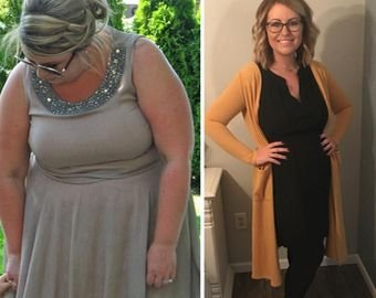 Толстушка похудела вдвое, чтобы стать матерью