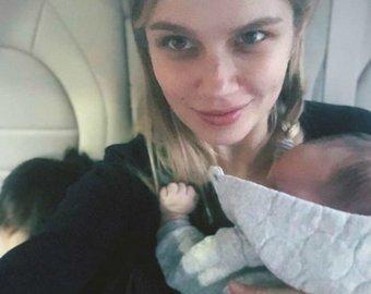Дарья Мельникова и Артур Смольянинов показали лицо старшего сына