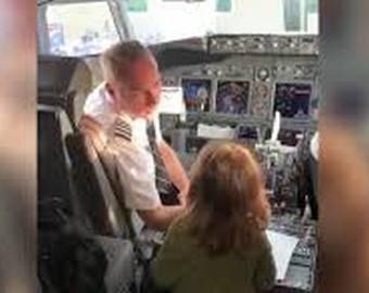 «Угнавшая» самолёт девочка стала интернет-звездой