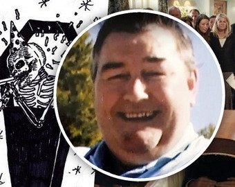 Мужчина записал смешное аудиопослание для своих похорон