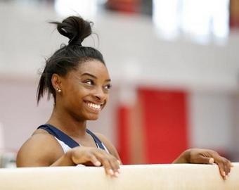 Невероятный прыжок американской гимнастки поразил фанатов