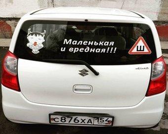 Пользователи соцсети подняли на смех автомобилистку из Приморья