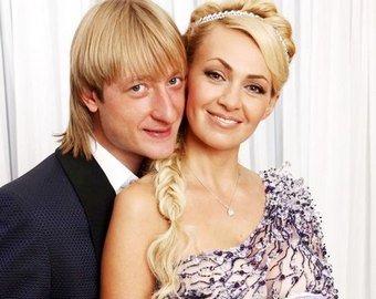 Плющенко и Рудковская приняли участие в челлендже с переодеванием