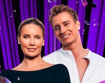 Елена Летучая с партнером по танцам насмешили поклонников