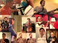 Артисты мюзиклов спели все вместе, чтобы победить коронавирус
