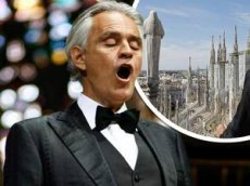 Концерт Андреа Бочелли набрал почти 25 миллионов просмотров