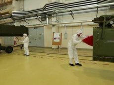 Подготовку новейшей ракеты «Буревестник» к пуску показали на видео