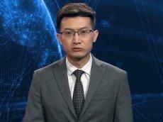 В Китае представили первого цифрового телеведущего