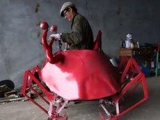 Китаец изобрёл самого смешного робота в мире