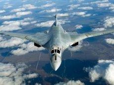 Полет Ту-160 над Карибским морем сняли на видео
