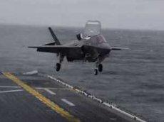Вертикальная посадка F-35B