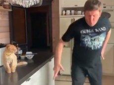 Дмитрий Губерниев показал зажигательный танец