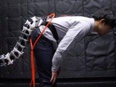 В Японии разработали механический хвост для людей