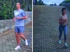 Роналду показал, как тренирует свою невесту