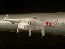 Дрон столкнули с самолётом на скорости почти 400 км/час