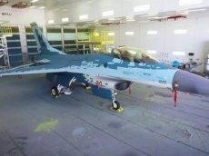 Превращение F-16 в Су-57 попало на видео