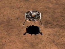 NASA показало видео приземления миссии InSight на Марс