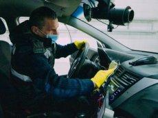 ЦОДД показал, как правильно дезинфицировать автомобиль