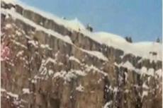 Уникальное видео: рекордный прыжок в бездну