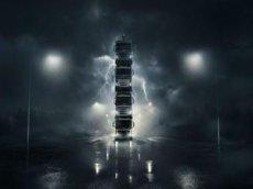 Volvo собрала грузовики в 15-метровую башню