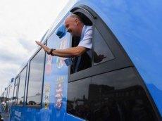 В Германии запустили первый в мире водородный поезд
