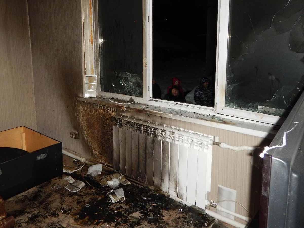 Жителя Хабаровского края сожгли заживо вподъезде дома