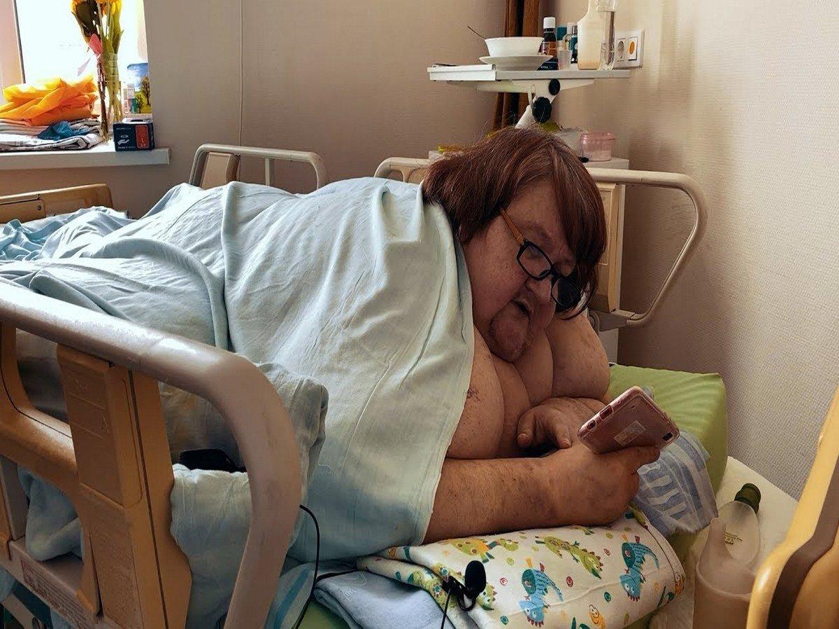 Весившую три центнера жительницу Тюмени выписали из больницы