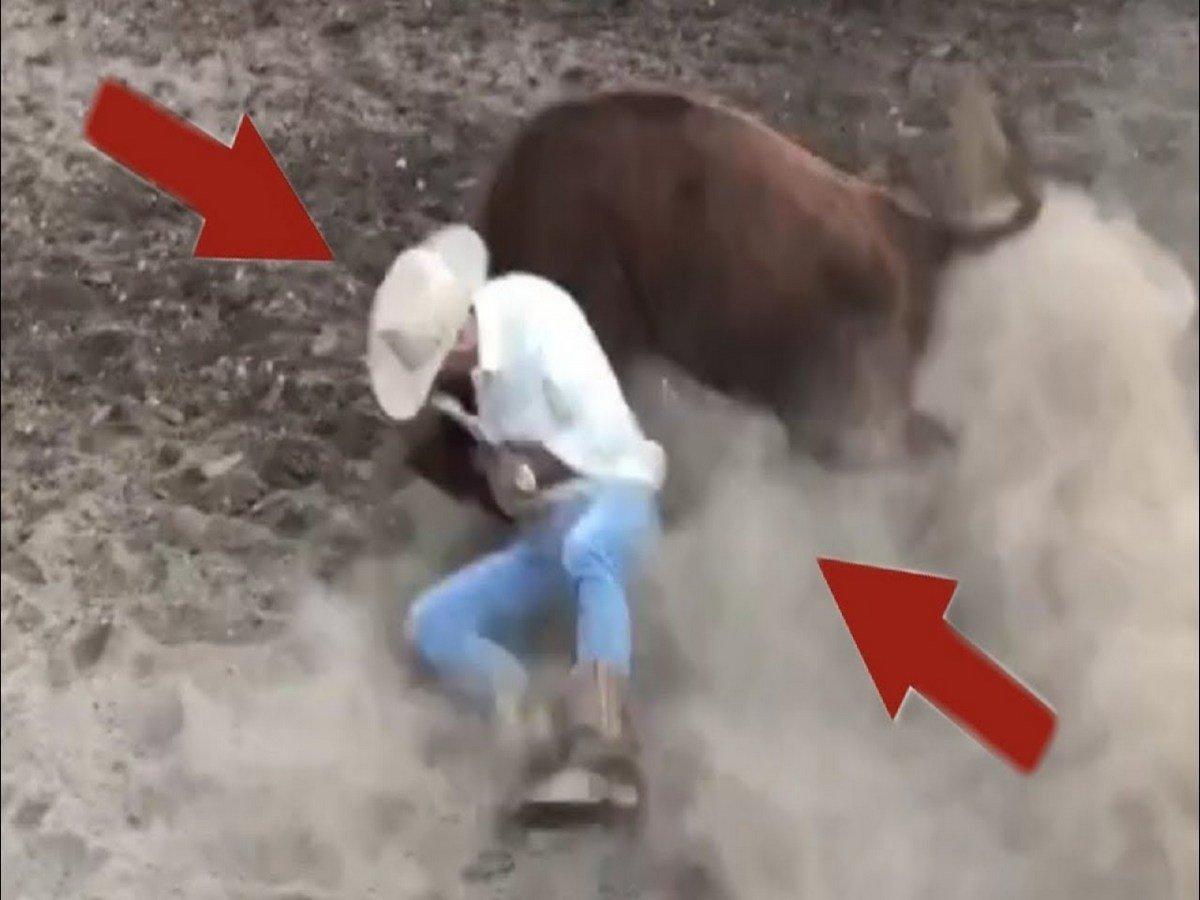 Экс-чемпион UFC победил быка на родео