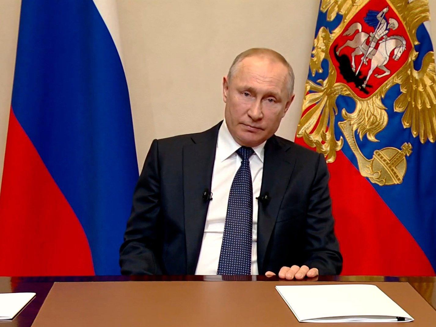 Обращение Путина 15 апреля 2020: онлайн трансляция  (ВИДЕО)