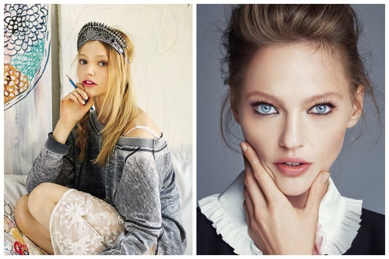 Как выглядели известные русские модели до того, как стали успешными