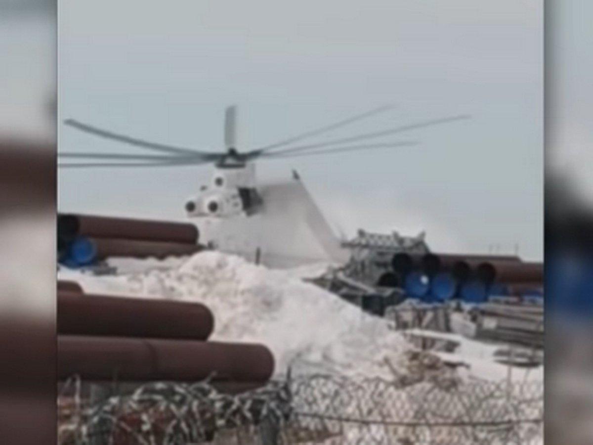 На Ямале вертолет потерпел катастрофу