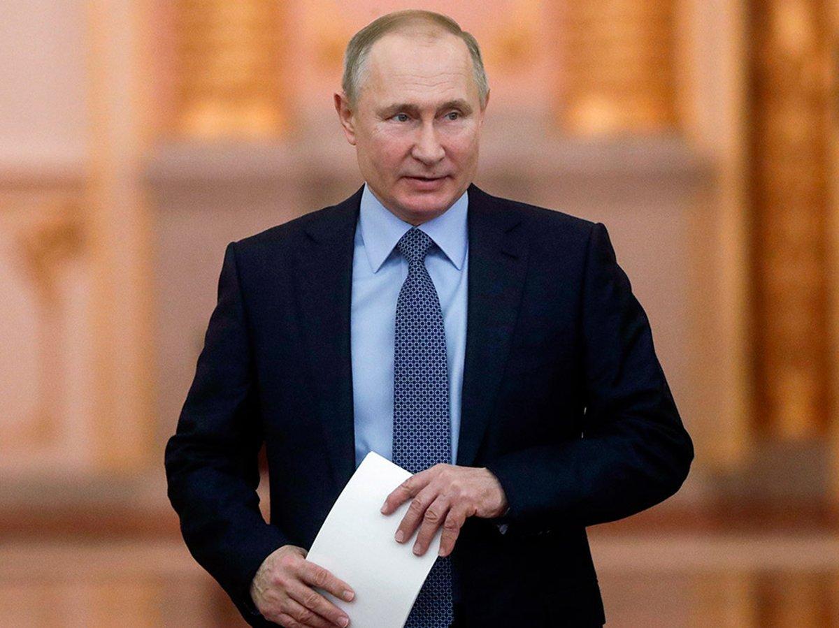 Путин  выступит с обращением 28 апреля по ситуации с коронавирусом