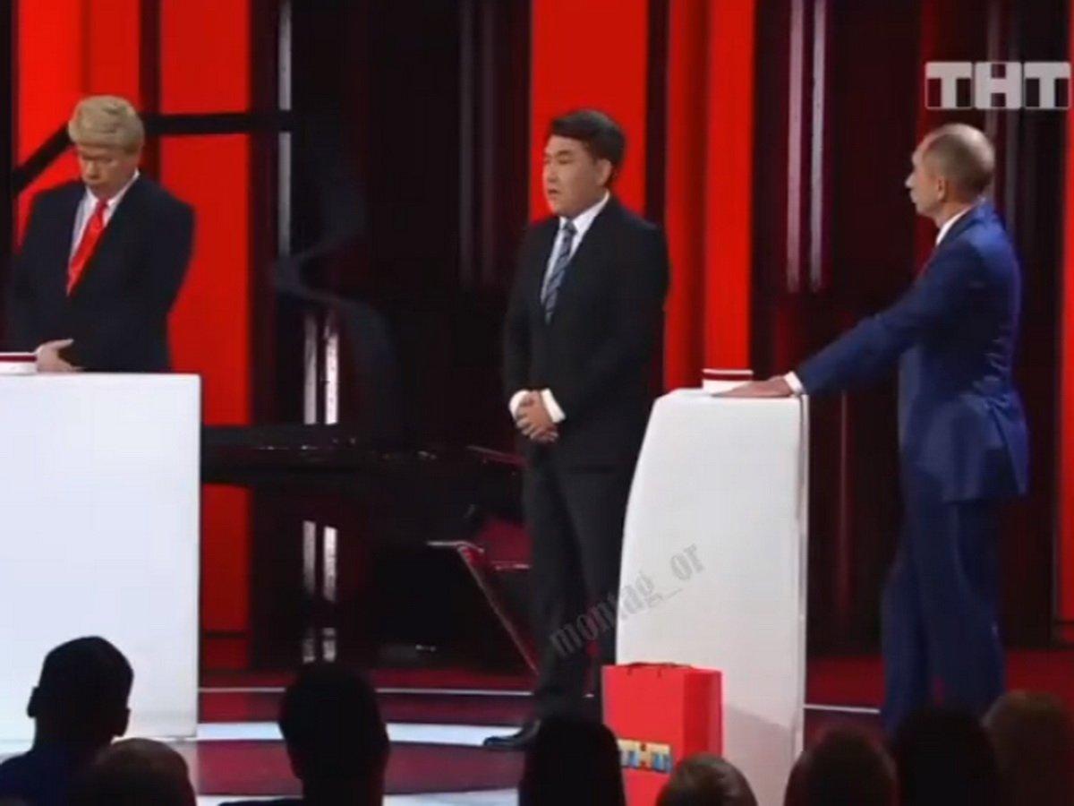 """""""Путин"""" довел """"Трампа"""" до истерики в игре """"Где логика?"""" от Comedy Club"""