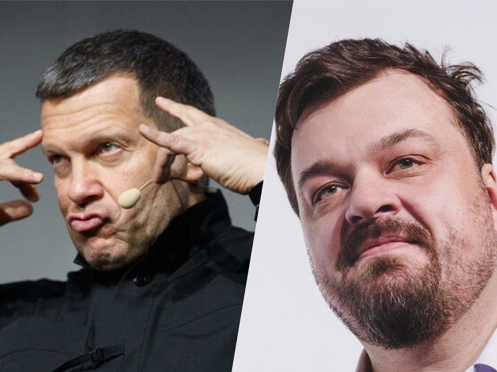 Соловьев продолжил скандальную перебранку с Уткиным