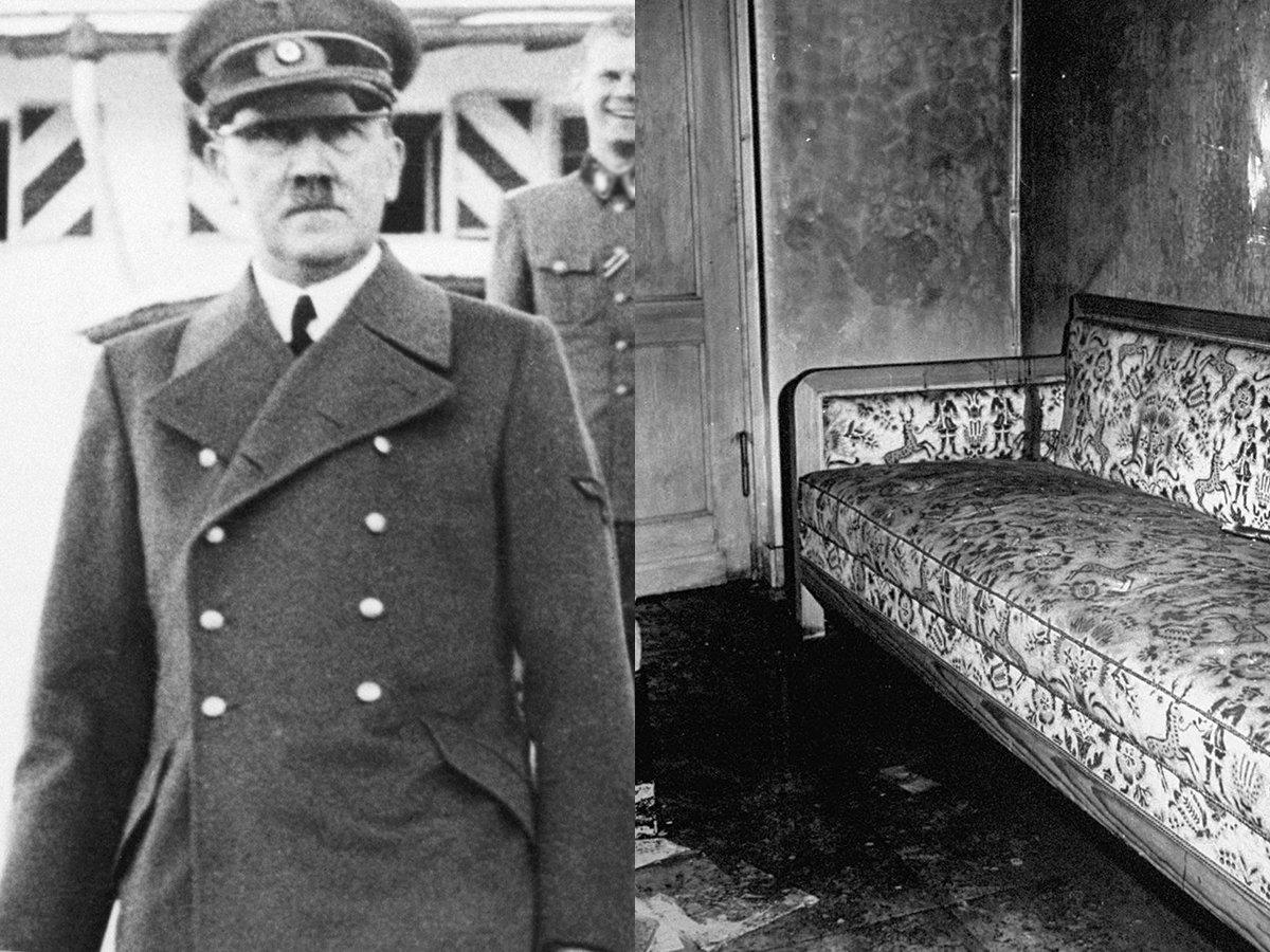 Впервые обнародованы неизвестные подробности смерти Гитлера