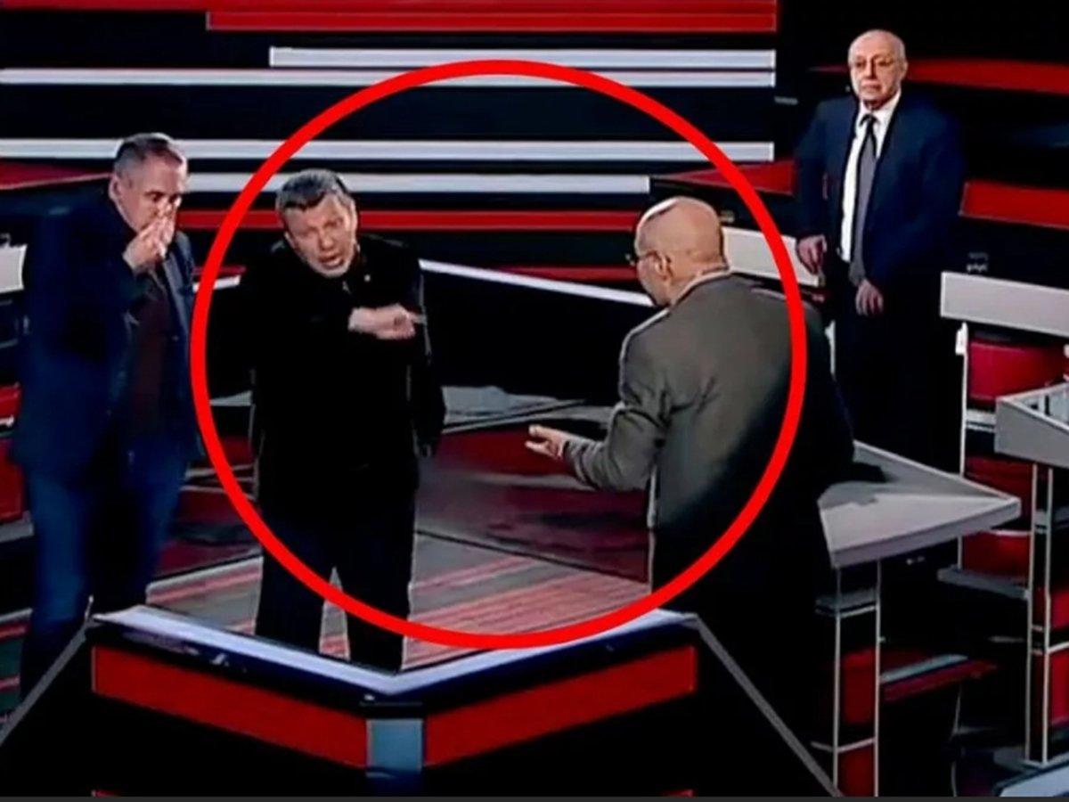 """Соловьев снова выгнал Ковтуна из студии, пообещав, что """"навсегда"""""""