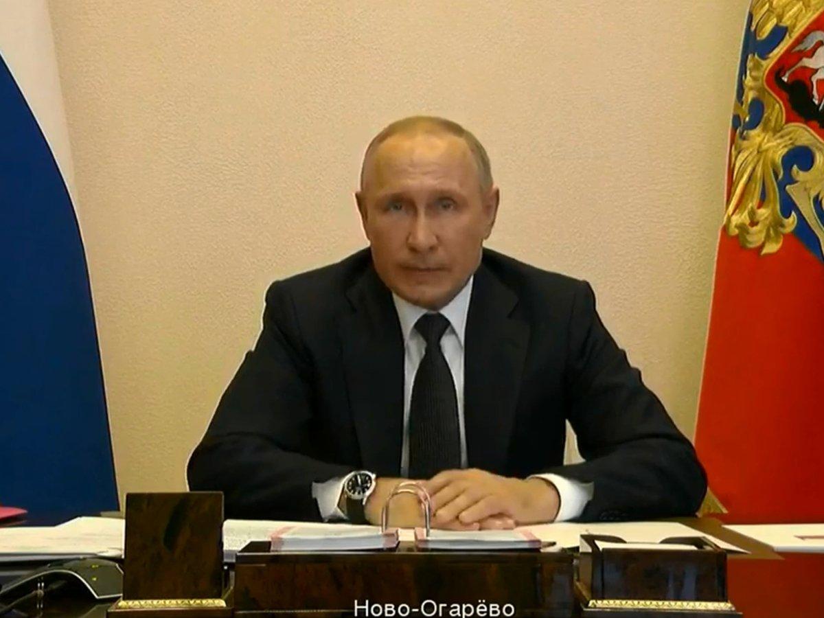Путин продлил режим самоизоляции в России до 11 мая
