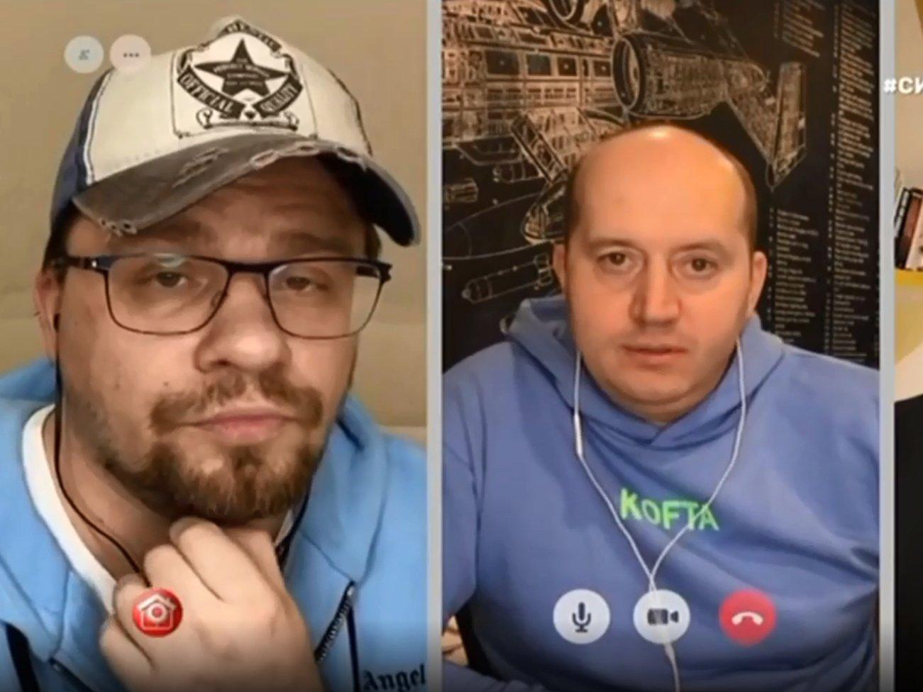 Бурунов встретился с Волей и Харламовым в Comedy Club на карантине