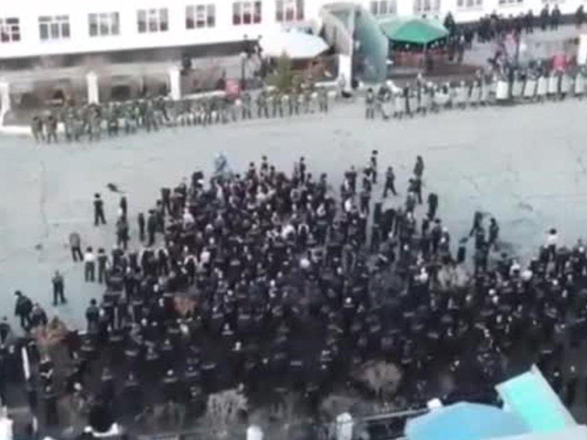 В Сети появилось видео бунта в иркутской колонии