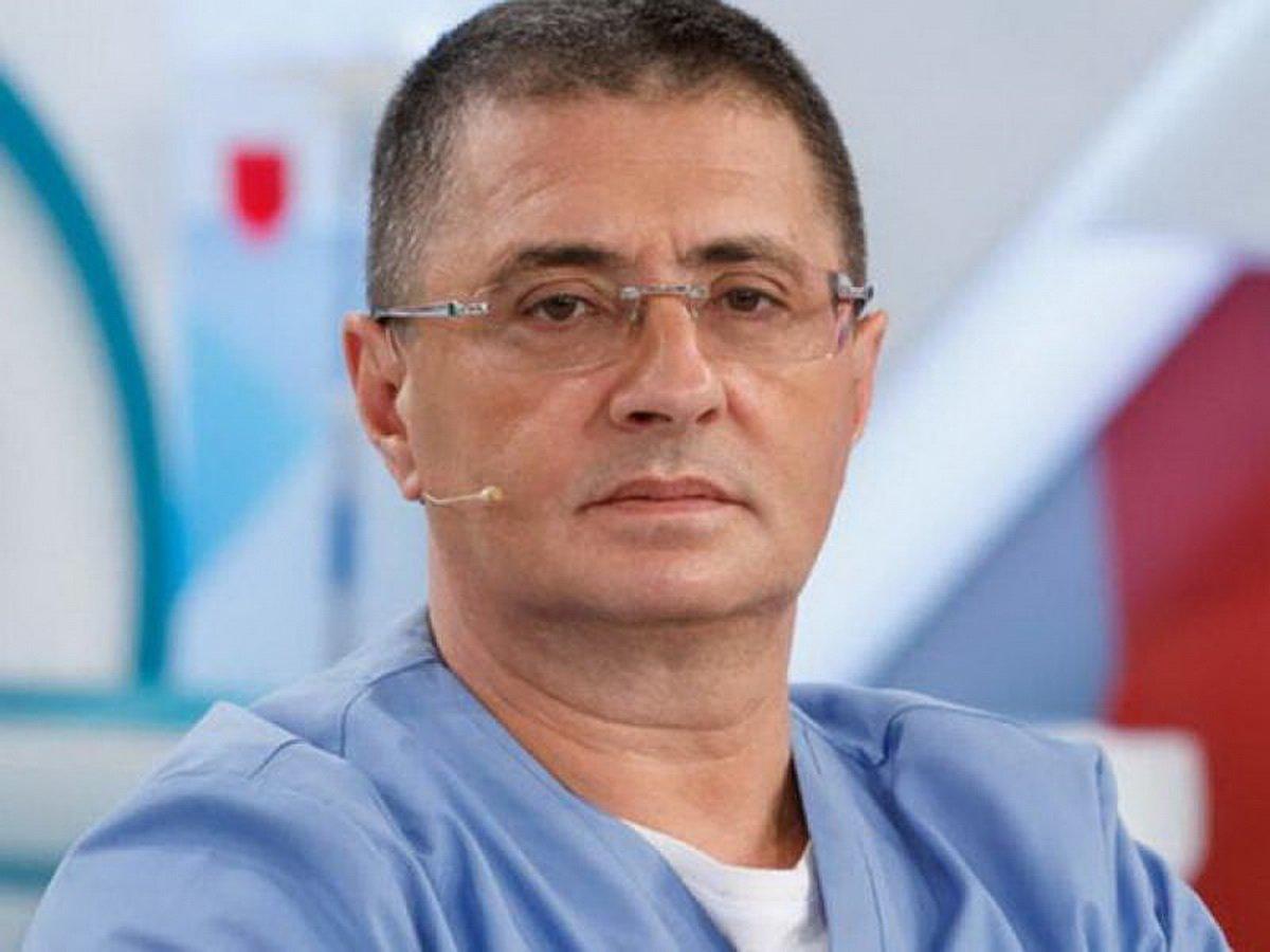 Доктор Мясников рассказал об уникальном пациенте с COVID-19