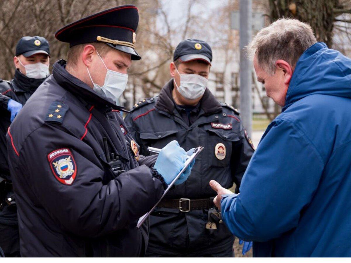В Москве выписали штрафов на 50 млн рублей за нарушение самоизоляции