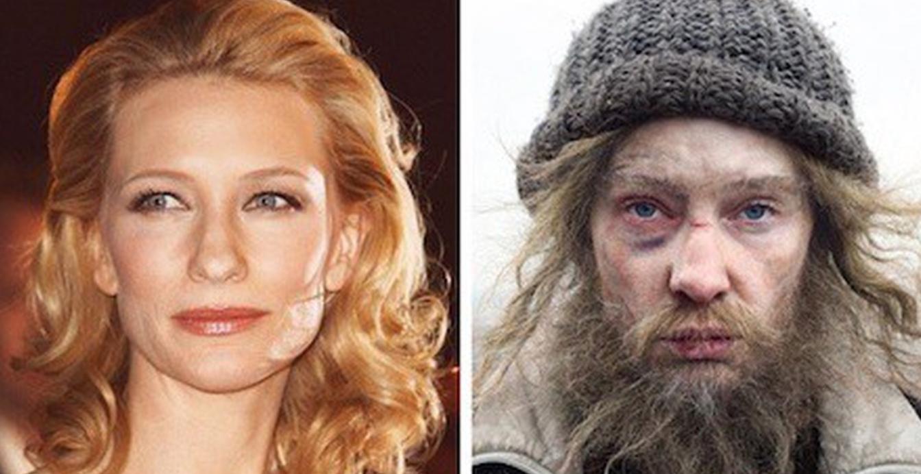 12 примеров, как гримеры преображают актеров